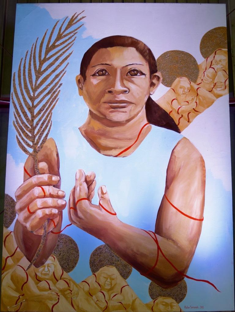 Teodora del Carmen Vásquez of El Salvador