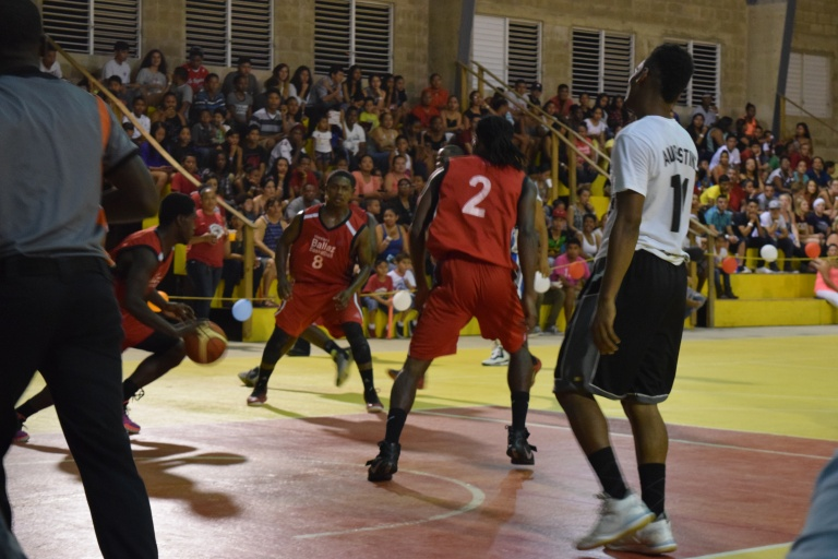 basketball game in Belize