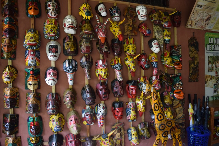 Guatemalan masks