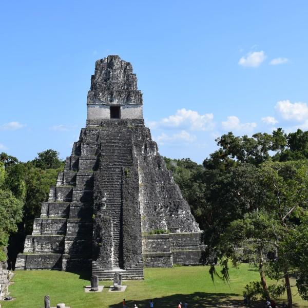 The Jaguar Temple of Tikal