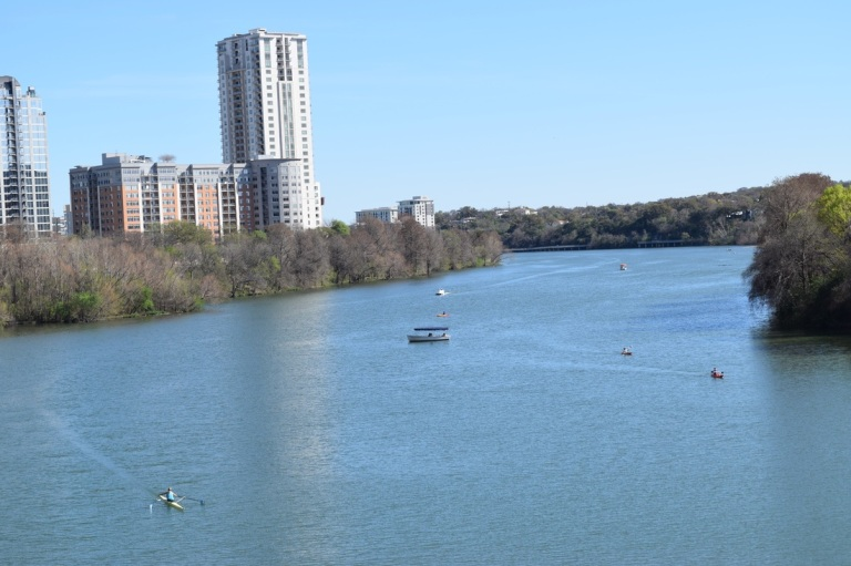 Colorado River in Austin Texas