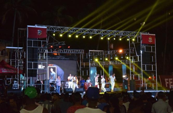 street concert in Havana