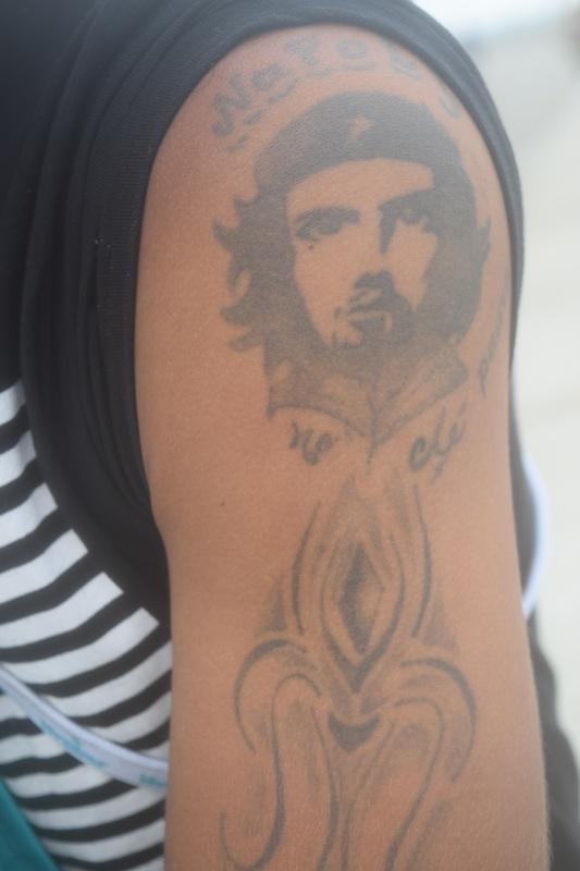 Che Guevara tattoo