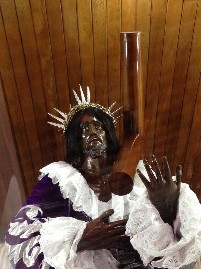 El Cristo Negro Portobelo, Panama