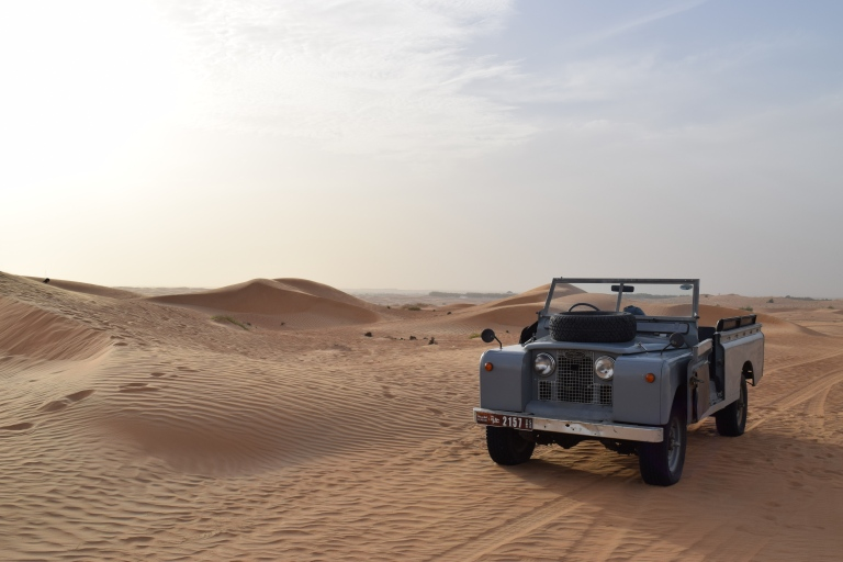 A Desert Safari in Dubai