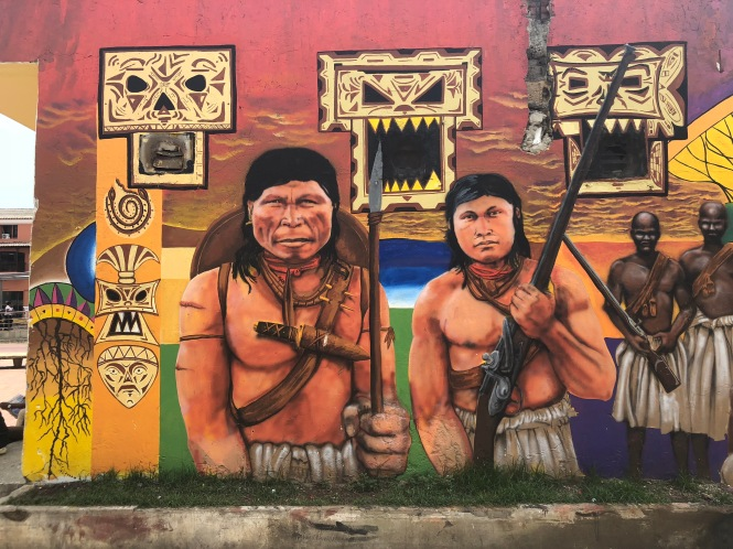 Street Art and the Real Cartagena