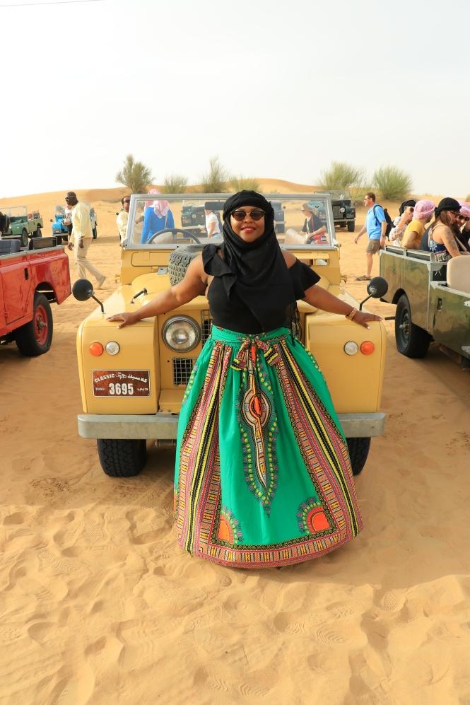 A Desert Safari in Dubai with Platinum Heritage